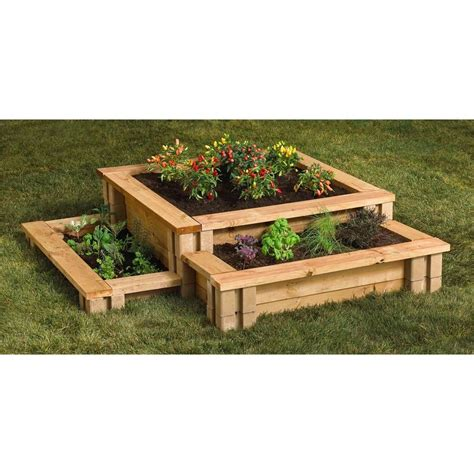 oldcastle         tan brown planter
