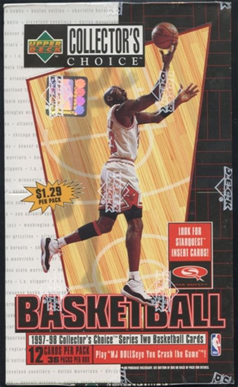 Deck Collectors Choice 1997 by 1997 98 Deck Collector S Choice Series 2 Basketball