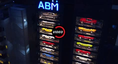 Behold Singapore's Luxury Car Vending Machine Carscoops