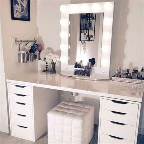 coiffeuse de chambre pour femme moderner schminktisch mit spiegel hübsche fotos