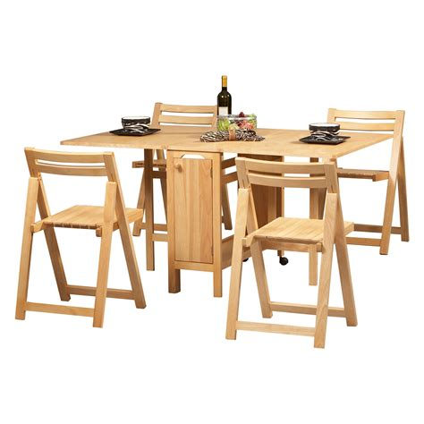 collapsible dining table and chairs folding dining room table and chairs marceladick com