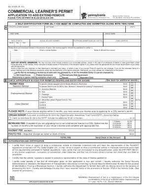 pa work permit form dl 704 fill online printable fillable blank pdffiller