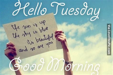 tuesday good morning pictures   images