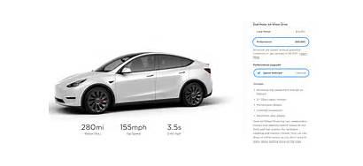 Tesla Performance Comparison Efficiency Vs Range Upgrade