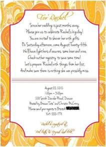 Bridal Shower Invite Poems