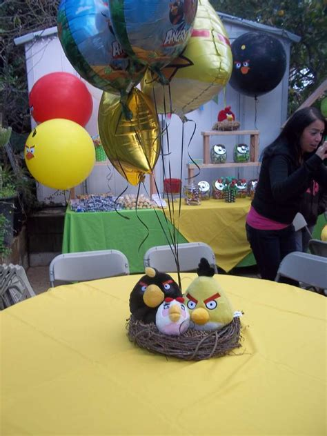 angry birds birthday party ideas photo    catch