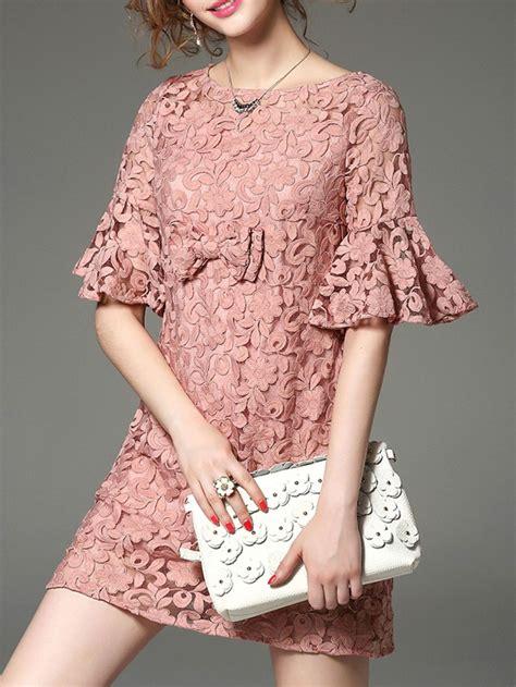 floral short sleeve embroidery mini dress kebaya brokat
