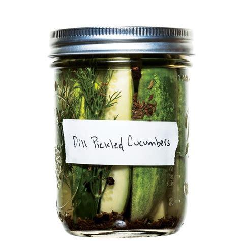 classic dill pickles recipe epicuriouscom