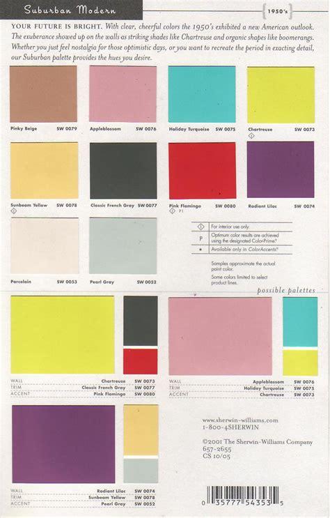 modern home interior color schemes mid century modern interior colors sherwin williams