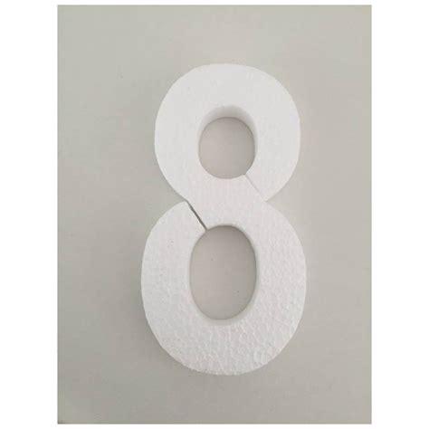 MagicBaloni -Broj 8 - bijela