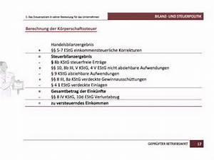 Bilanz Berechnen : gepr fter betriebswirt ihk bilanz und steuerpolitik berechnung k ~ Themetempest.com Abrechnung
