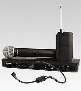 Shure Blx1288  P31 Dual Channel Combo Wireless System