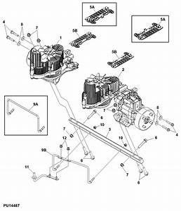 John Deere Z Trak Z820a Hydro Question