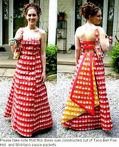 prom taco sauce dress by sky fineart on deviantart With taco bell wedding dress