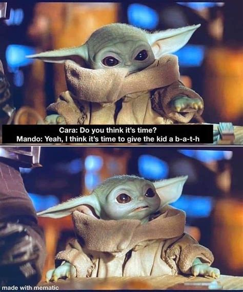 Pin by Brenda Miller on Baby Yoda Memes in 2020 | Star ...