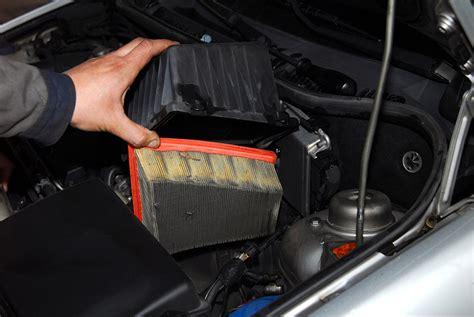 contaminated air filter   check engine light