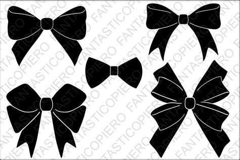 cricut bow bows svg files for silhouette cameo and cricut by