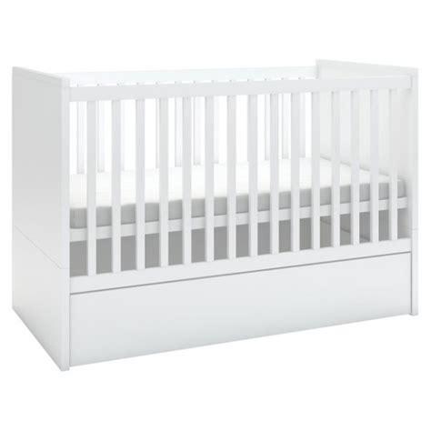 visuel lit bebe avec tiroir rangement