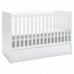 Lit Bébé Avec Tiroir : lit bebe avec tiroir rangement ~ Melissatoandfro.com Idées de Décoration