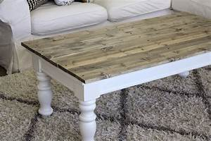 nifty thrifty momma farmhouse style coffee table With farm coffee table plans