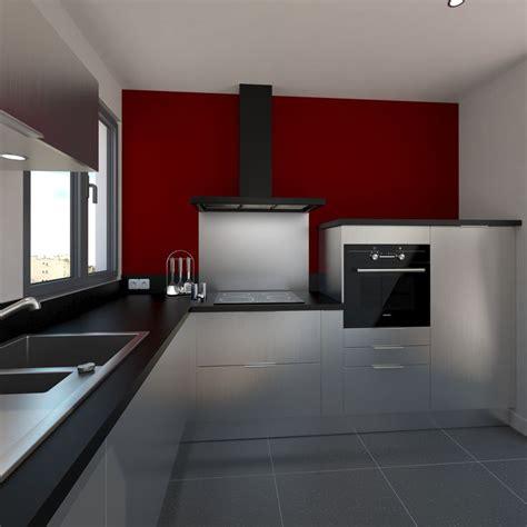 cuisine et accessoires cuisine design tout inox meubles fond de hotte évier de cuisine et accessoires au style semi