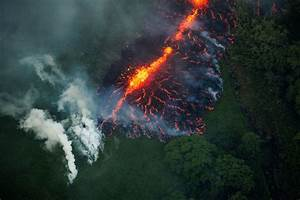 New Volcanic Lava Fissure In Hawaii Prompts More