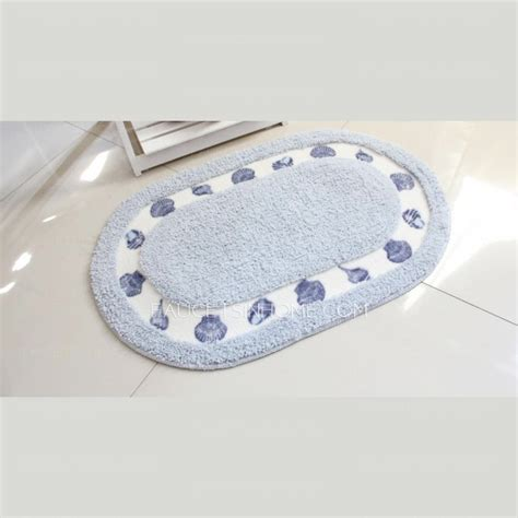 light blue bathroom rugs natural light blue polyester 20 31 5 inch oval shaped