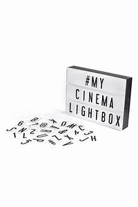 my cinema lightbox from saskatchewan by twisted goods With my cinema lightbox letters