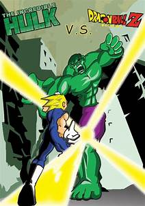 Hulk vs Vegeta – DReager1.com