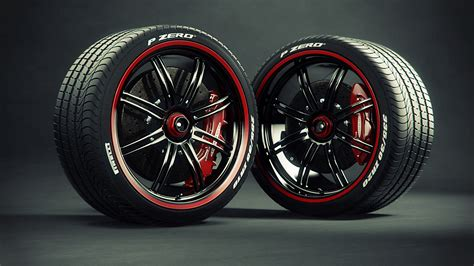 Pirelli Tires Wheels Caliper Brake Disc Wheel Wallpaper