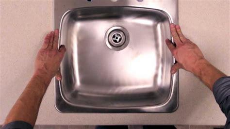 rona   install  kitchen sink youtube