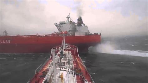 Ship Collision by Two Ships Near Collision Caught On Camera Outdoors360