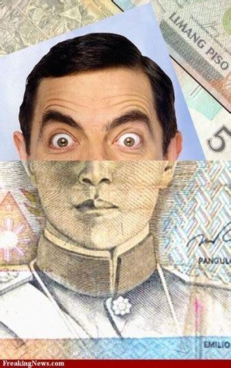 gambar unik gabungan uang kertas  foto artis