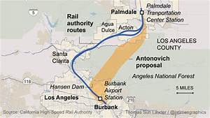 Proposal for rail corridor through Angeles National Forest ...