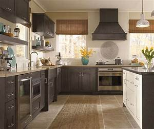 Acrylic Kitchen Cabinets with Melamine Accents - Kitchen Craft