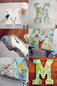 25 best ideas about decoupage letters on pinterest With decoupage letters
