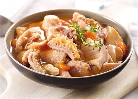 cuisiner les tripes tripes traditionnelles à la mode de caen surgelé gamme plats cuisinés sur thiriet