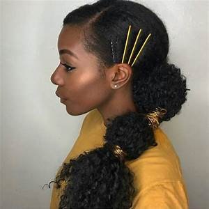 10 Gorgeous Natural Hair Ponytail Styles To Try The