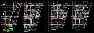 Apartment Building  U2013 Plumbing Dwg Block For Autocad