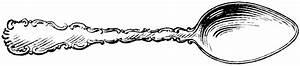 Spoon Clipart Black And White – 101 Clip Art