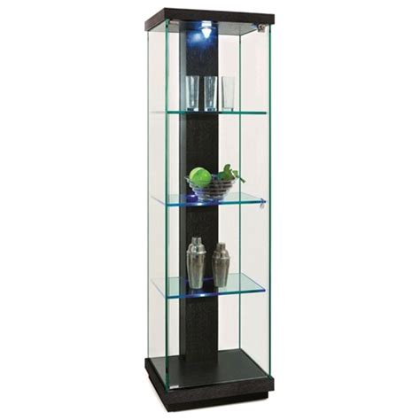 marcel lighted display curio hardwood glass dcg stores