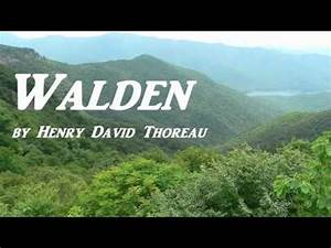 WALDEN by Henry... Thoreau Book Quotes