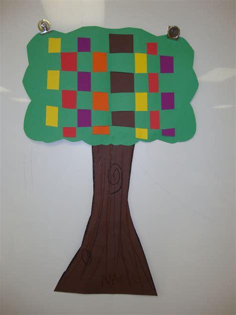Tree Weaving: Elementary School Art Project : 13 Steps ...