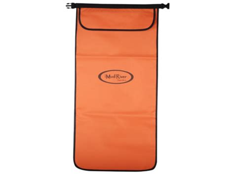 mud river hoss dog food bag nylon orange mpn