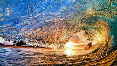 Sun Olas Waves Sea Wave Mar Fondos