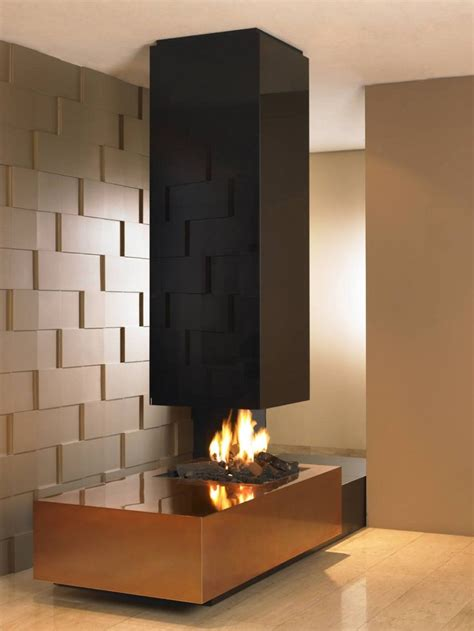 modern chimney decorating hot see through gas fireplace designs furniture interior great modern style black