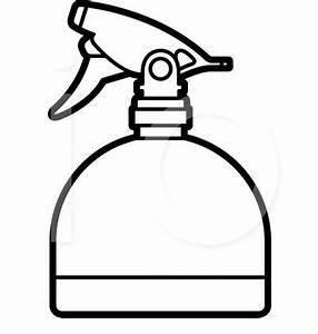 Water Spray Bottle Clipart (11+)