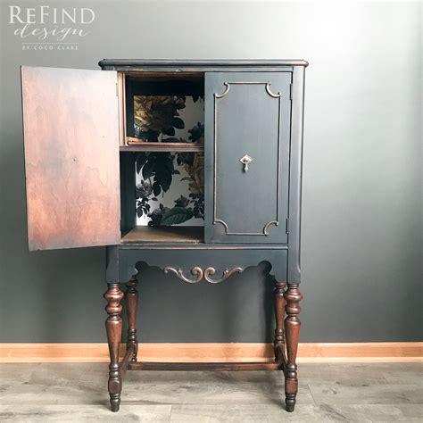 repurposed antique radio cabinet general finishes