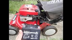 Snapper Big Six Ninja Lawn Mower Nfrp216012e Electric