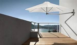 Parasol De Balcon Inclinable : parasol mural bras t lescopique paraflex wallflex ~ Premium-room.com Idées de Décoration